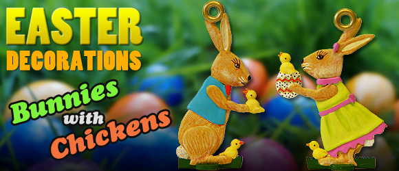 Easter Decorations 2018 Banner