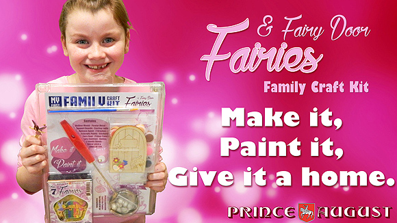 Fairies and Fairy Door Family Craft Kit.