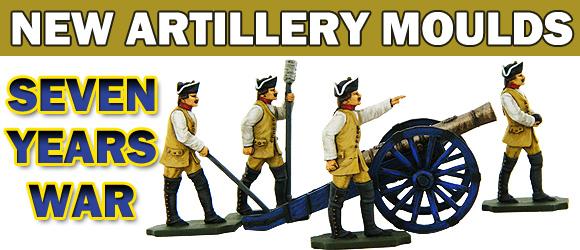 Seven Years War Artillery Banner 2017