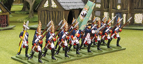 Seven Years War Fusiliers