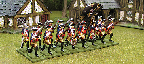 Seven Years War Prussian Musketeers