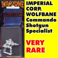 Imperial Wolfbane Commando with Mandible Shotgun
