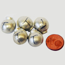 Pure Tin Pellets - 1 cent coin used for scale only