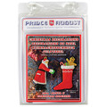 PA1904 Christmas Decorations - Santa Claus and Christmas Stocking label