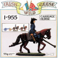 PAI955: Irish Wild Geese Artillery Carriage Horse & Rider 40mm Scale Mould