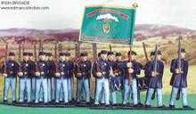 Irish Brigade Union Army Set of pewter miniatures