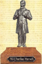 Charles Stewart Parnell Pewter Miniature