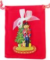 Christmas Decorations Nutcracker with Christmas tree