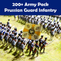 200+ Army Pack Prussian Guard Infantry