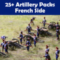 25+ Artillery Packs French Side