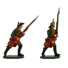 PA3112 Seven Years War Russia: Infantry Grenadier and Musketeer in Winter Uniform