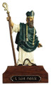 St. Patrick cast figure if painted.