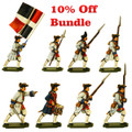 Save 10% on Seven Year War French infantry moulds.