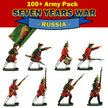 100+ Pack  Seven Years War Russian moulds.