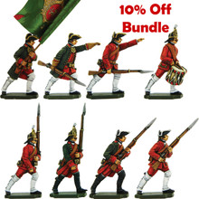 Save 10% on Seven Year War Russian infantry moulds.