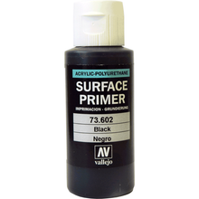 Black Surface Primer Acrylic Paint AV602 60ml