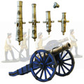 PA3117 Seven Years Wars Artillery cannon and howitzer