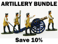 Bundle deal on Seven Years War Artillery moulds.