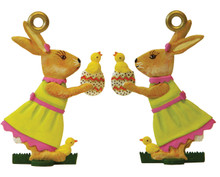 Easter Decoration - Bunny with hatching Chick