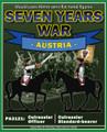 PA3121 Austrian Cuirassier Officer and Standard-bearer label