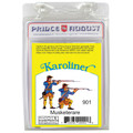 PAS901 Karoliners Musketeers - Standing and Kneeling label