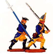 Karoliners Underofficer and Grenadier