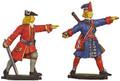 Great Northern War Prussian Officer/Grenadier moulds