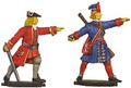 Great Northern War Prussian Officer/Grenadier moulds