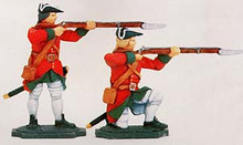Irish Wild Geese Soldiers Standing and Kneeling