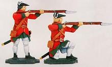 Irish Wild Geese Soldiers Standing and Kneeling