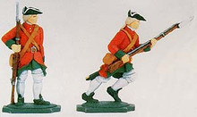 Irish Wild Geese Infantry Soldiers Standing and Running