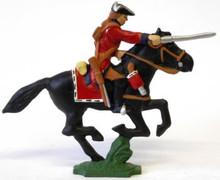 Irish Wild Geese Cavalry Man Sword Forward