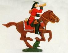 Irish Wild Geese Cavalry Trumpeter