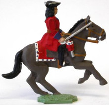 Irish Wild Geese Cavalryman with Lowered Sword