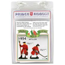 PAi954 'Irish Wild Geese Loader & aim' mould label