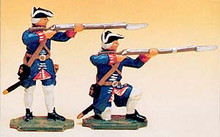 French Regiments Infantry Standing and Kneeling