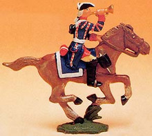 French Regiments 1750 Cavalry Trumpeter