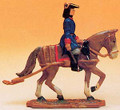 French Regiment 1750 Artillery Carriage Horse and Rider