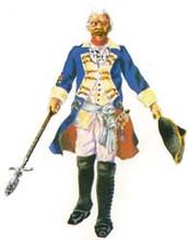 Prussian Officer walking