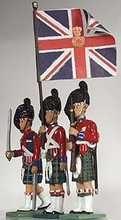 54mm Officer, Ensign and Colour Sergeant