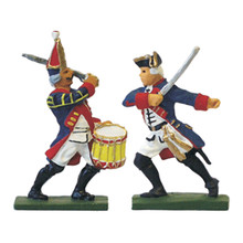 Prussia: Officer & Drummer