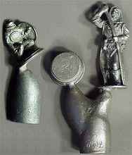 Master metal examples of Old Fantasy pawns.