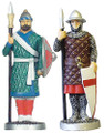 Example of Richard the Lionheart and Saladin pawns