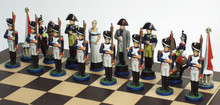The Battle of Waterloo chess side: Napoleon