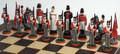 Battle of Waterloo Chess Set: Wellington's side