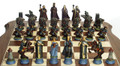 Fantasy Chess Set: Both sides.