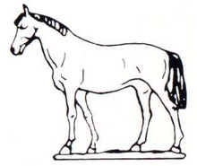 Horse Mould