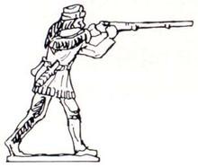 American Trapper with gun