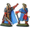High Elf Command - Captain & Hornist