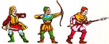 3 Wood Elves